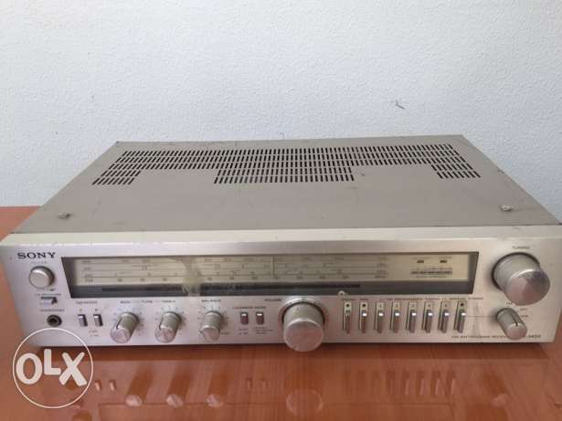amplifier Sony plus two speakers aiwa sale or trade
