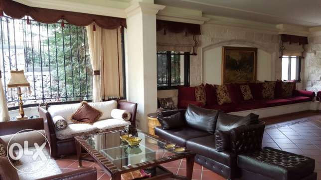 very nice appt with garden for sale in Ballouneh