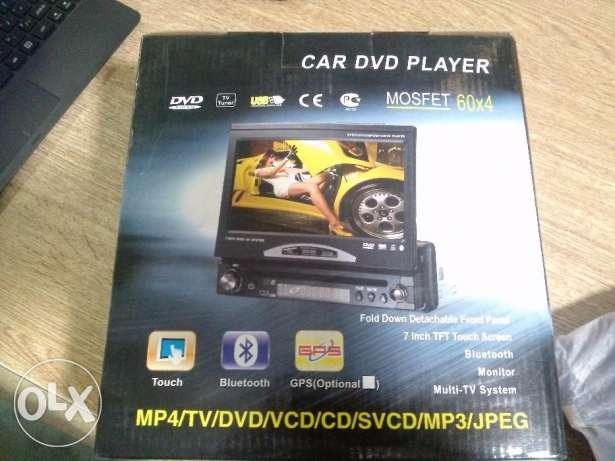 "Car DVD 7"" Touch Screen"