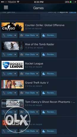 Steam account for sale