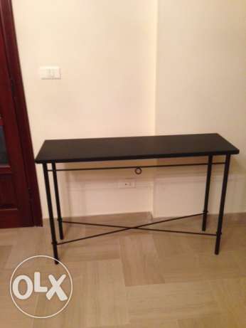 Last chance leaving country October 25. Metal table in black. كسروان -  2