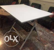 foldable architectural table