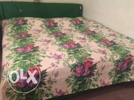 Queen size Bed with matrix