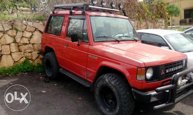 Pajero 82 collection car