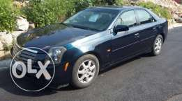Cadillac cts blue black