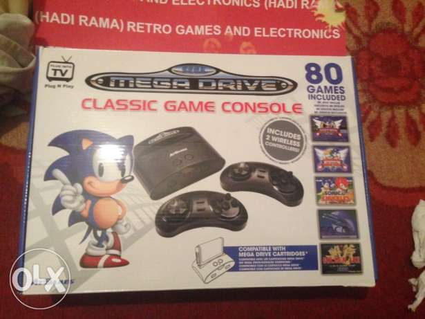 sega ( 80 sega game) wireless 2 controllers