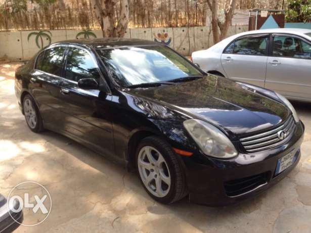 infiniti g35 blk/blk 2004 or trade
