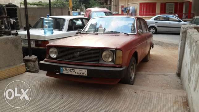 For sale: volvo 244 للكسر