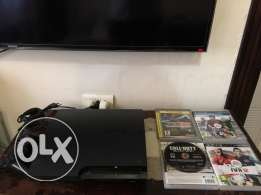 play station 3 for sale 1 joystick + 3 games
