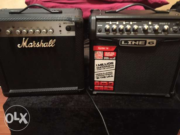 for sale amp both 160$ like new in the. box