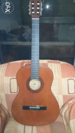 "Original German handmade classical guitar ""Stagg"" with bag"