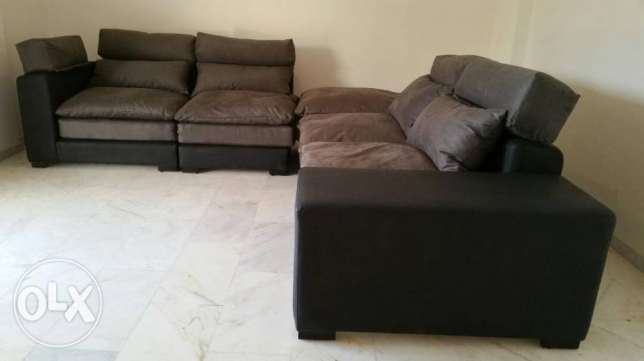Never used sofa set from CitiFurniture. Bought at $2.100