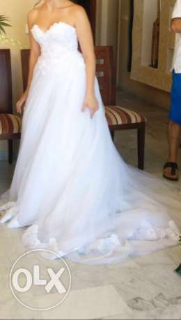hand made wedding dress بوشرية -  2