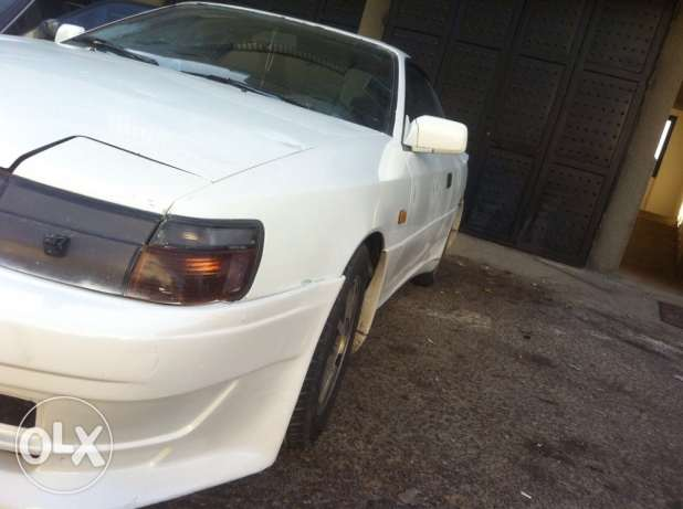 Toyota celica, white, manual, 1987, plus external appendages