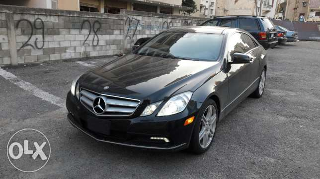 Beautiful Mercedes E-Class 350 Coupe for sale أشرفية -  2