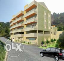 apartment new in achkout 110m jehze la sakan, sanad temlik