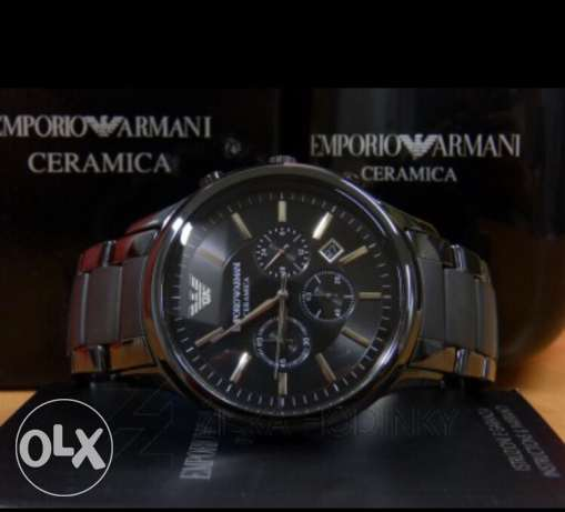Original Ceramica double black Armani highest level