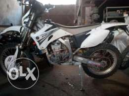 Full cross yamaha yzf 450cc