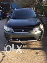 mitsubishi outlander v6 model 2008 dark green full ma3 jeled ajnabi
