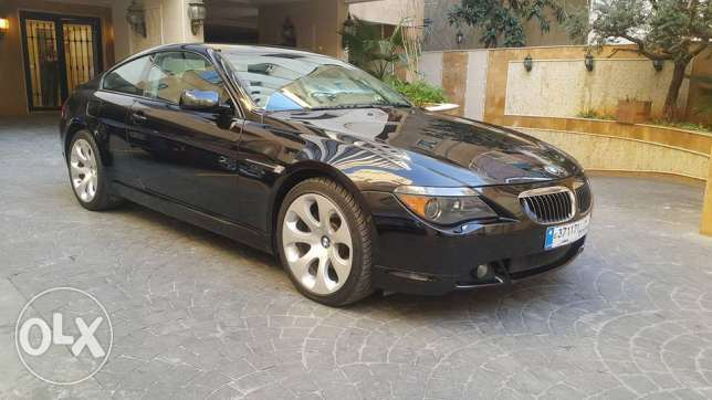 BMW 645 S.P/2005 Full option Clean Title No Accidents/Large Screen/DVD