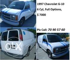 chevrolet VAN G-10/ 6 cyl full
