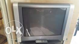 SONY tv with table
