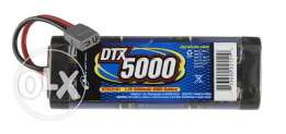 Duratrax DTX-5000Mah 6Cell 7.2v NiMH Battery for RC