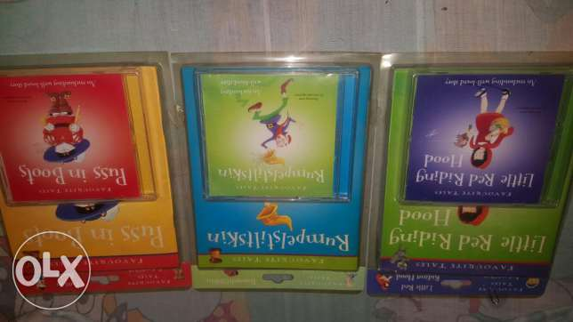 Favourite Tales storybooks/CD's المرفأ -  1