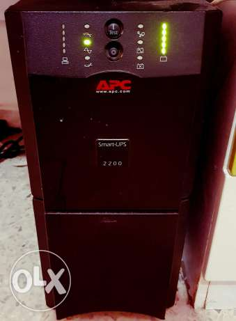 APC smart-UPS 2200 48v builtin battery