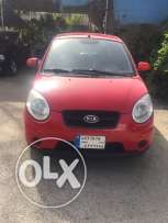 kia picanto model 2010 red color full option