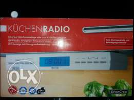 From europe germany radio for kitchen