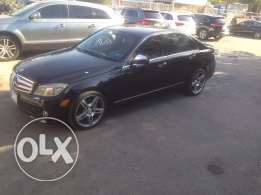 Mercedes c300 AMG Look 2009 black