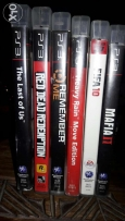 6 PS3 games like new for very good price