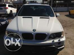 Bmw X5 2001 white color sport package