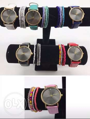 accesories watch and brac