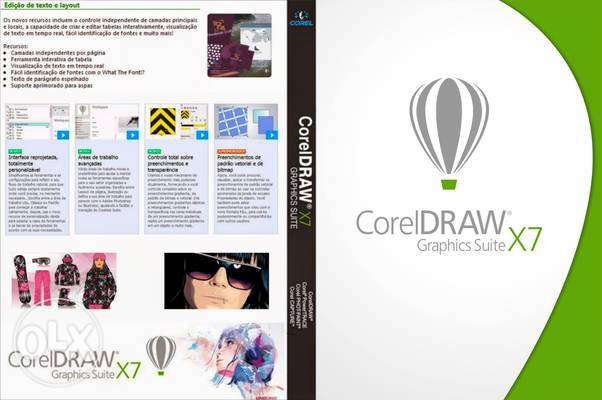 female corel draw experience