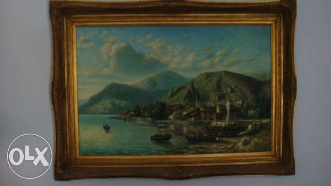 ---2 Authentic High Quality paintings-tableau---