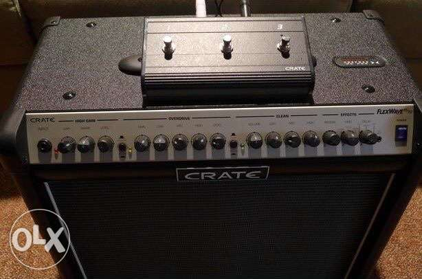 Crate FW65 with foot-switch!!