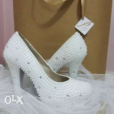 Handemade WEDDING SHOES stgarting 40000L.L