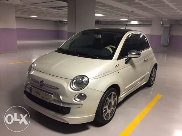 very low mileage Fiat 500 sport edition