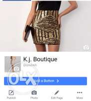 K.j boutique full store for sale in قبيع