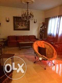 Fully furnished apartment for rent achrafie sayde street.