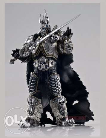 Wow Arthas 15 cm PVC Action Figure Model الدورة -  2