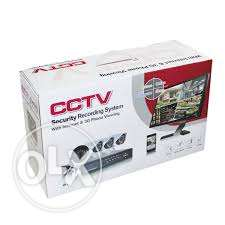 cctv 4 AHD camera indoor kit p2p can watch in smart phone