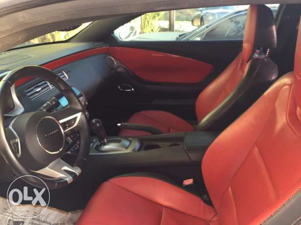 Camaro RS 2010 Red Interior steering shift full ajnabie