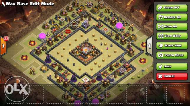 Clash of clans Th11 base for sale انطلياس -  3