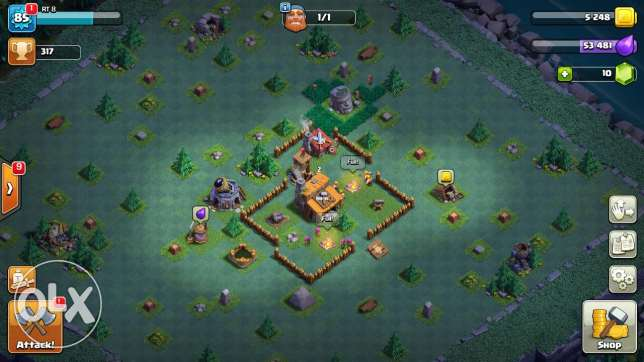 Clash of clans town hall 9 chebeh maks