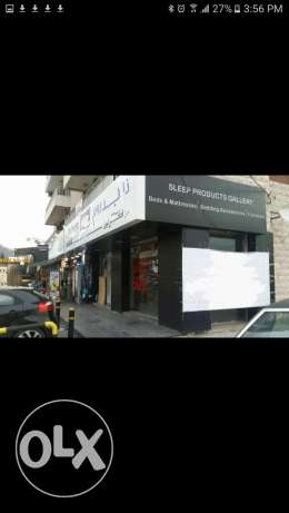 Shop for sale on jounieh highway after casino 4 ابواب(Prime location)