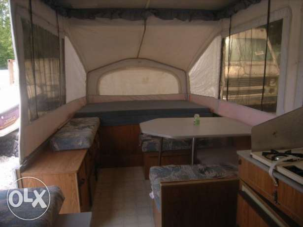 caravan as small house, fully equiped المتن -  4