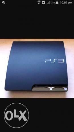 Ps3 slim with 3 controller and 10 cds w mrw7a